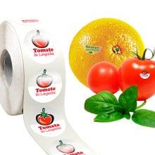 étiquettes contact alimentaire