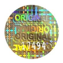 Etiquettes holographiques