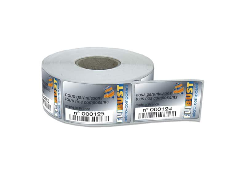 etiquettes industrielles