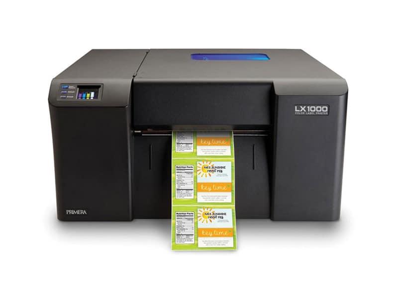 imprimante etiquettes jet d'encre primera lx1000e