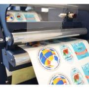 VIRGO - Système de finition d'étiquettes adhésives compact